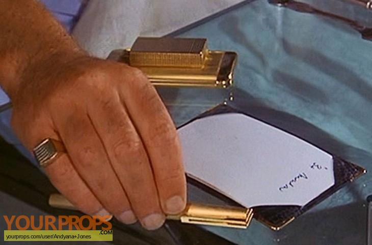 James Bond  The Man With The Golden Gun made from scratch movie prop weapon
