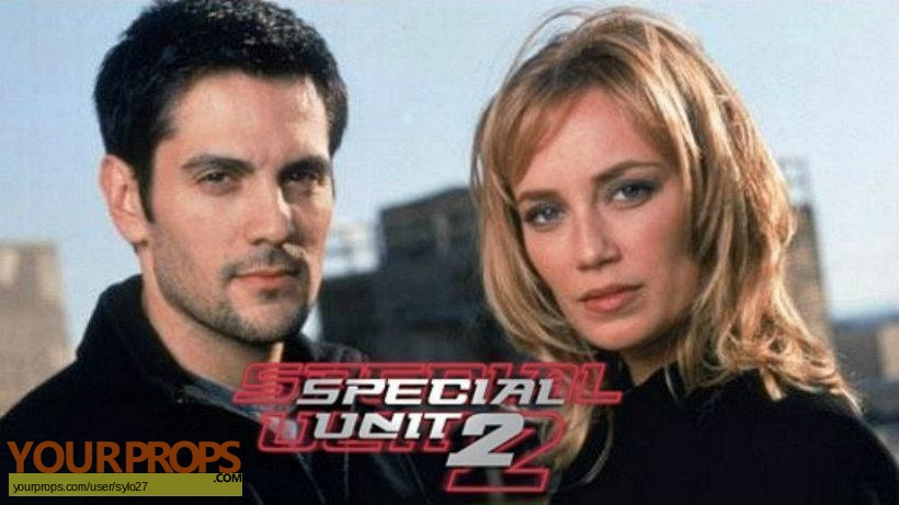 Special Unit 2 original movie prop