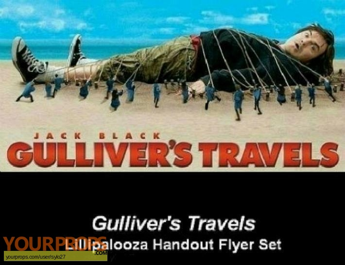 Gullivers Travels original movie prop