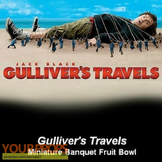 Gullivers Travels original model   miniature