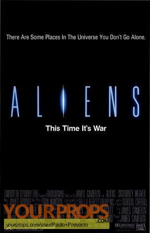 Aliens original production material