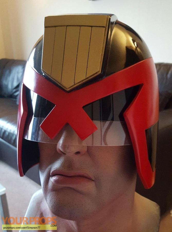 Judge Dredd (comic books) replica movie prop