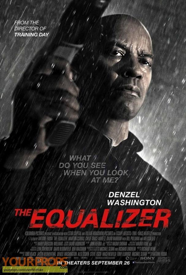 The Equalizer replica movie prop