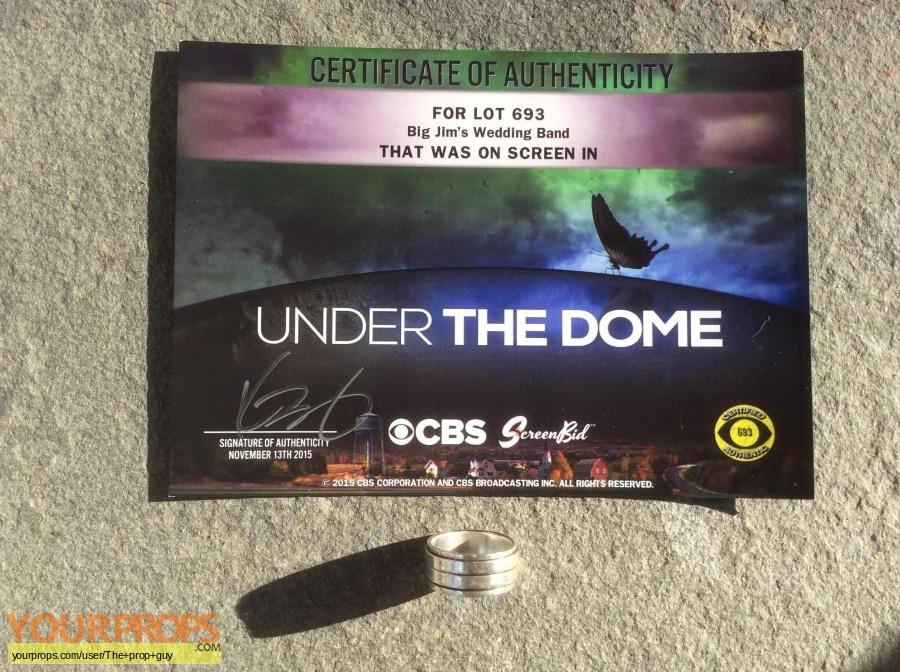 Under the Dome original movie prop