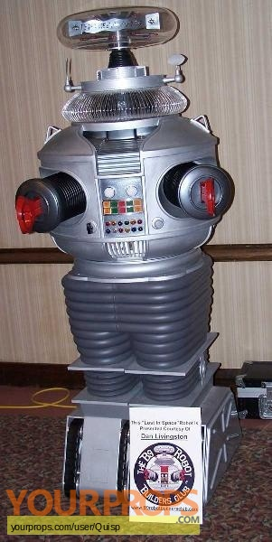 Lost In Space made from scratch movie prop