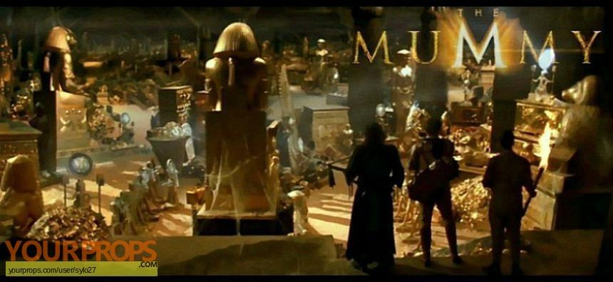 The Mummy original set dressing   pieces