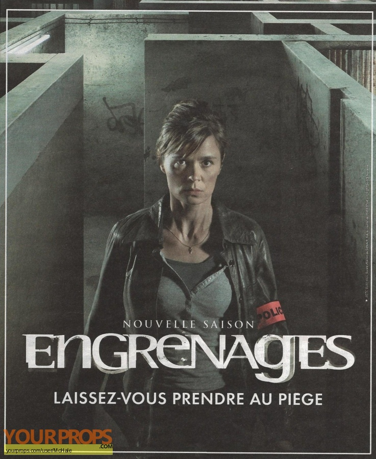 Engrenages original movie prop
