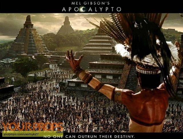 Apocalypto original movie prop