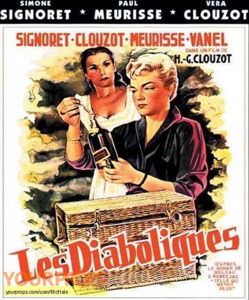 Les Diaboliques replica movie prop
