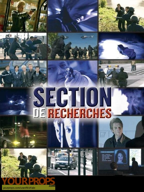 Section de recherches replica movie prop
