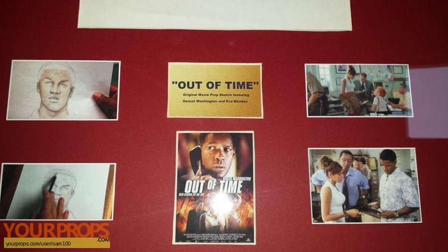 Out of Time original movie prop