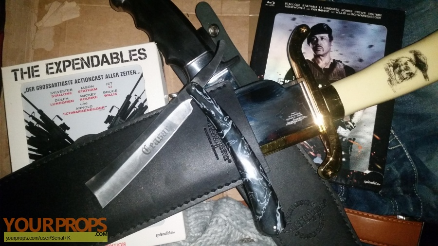 The Expendables 2 replica movie prop weapon