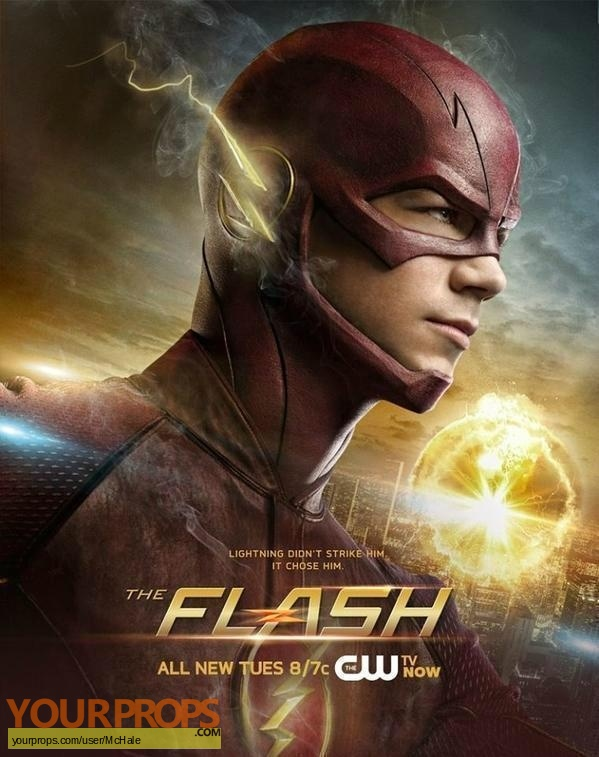 The Flash replica movie prop