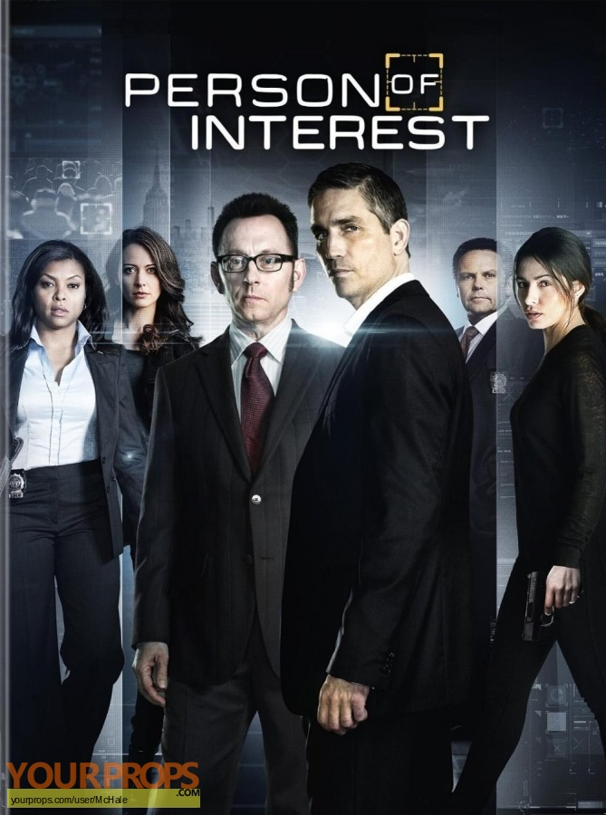 Person of Interest original movie prop