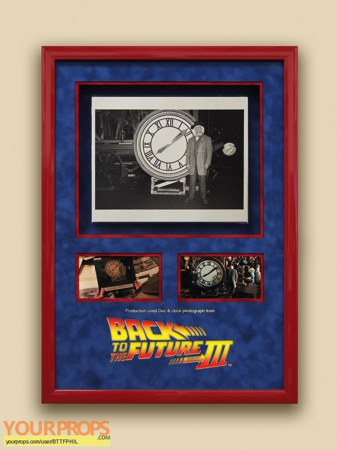 Back To The Future 3 original movie prop