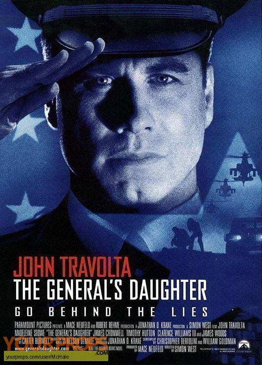The Generals Daughter replica movie prop