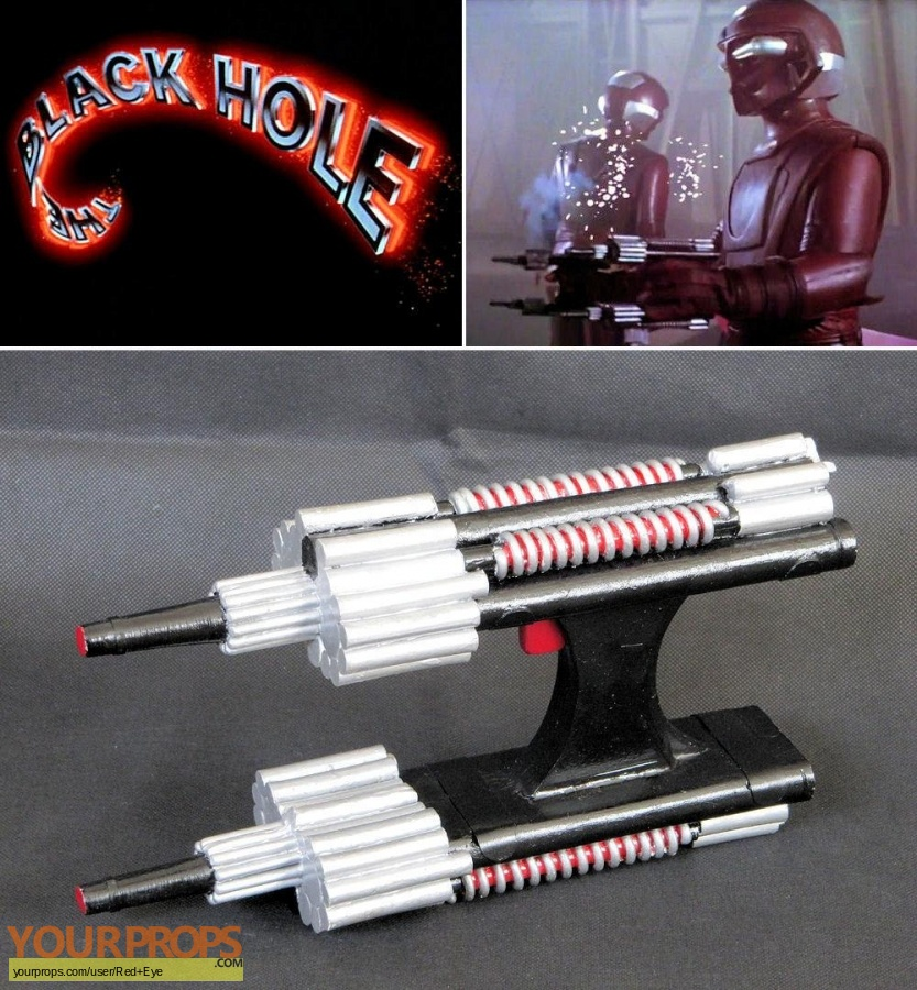 The Black Hole replica movie prop weapon