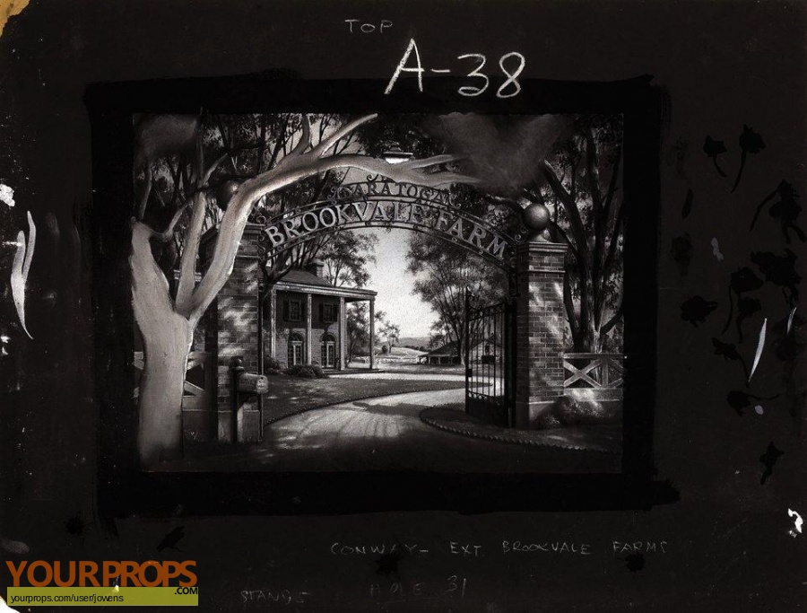 Saratoga original production artwork