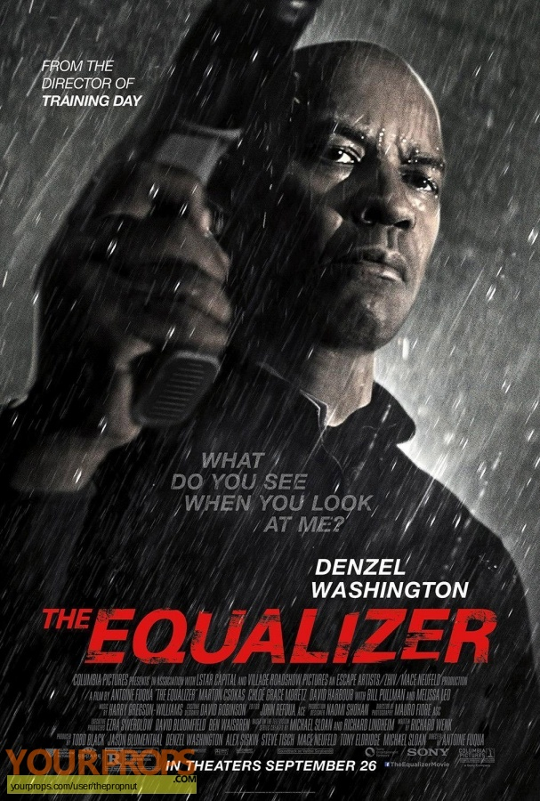 The Equalizer original movie costume