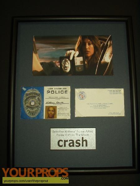 Crash original movie prop