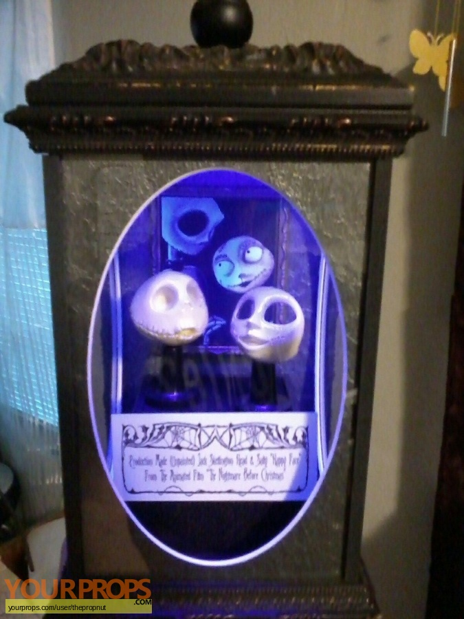 The Nightmare Before Christmas original model   miniature