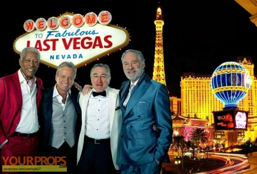 Last Vegas original movie prop