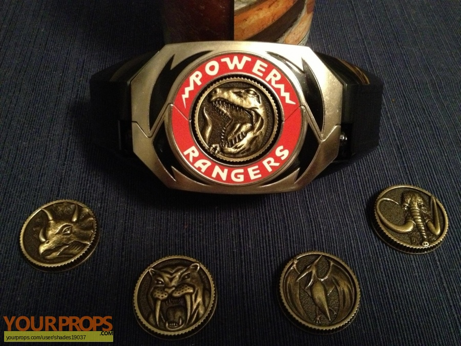 Mighty Morphin Power Rangers replica movie prop
