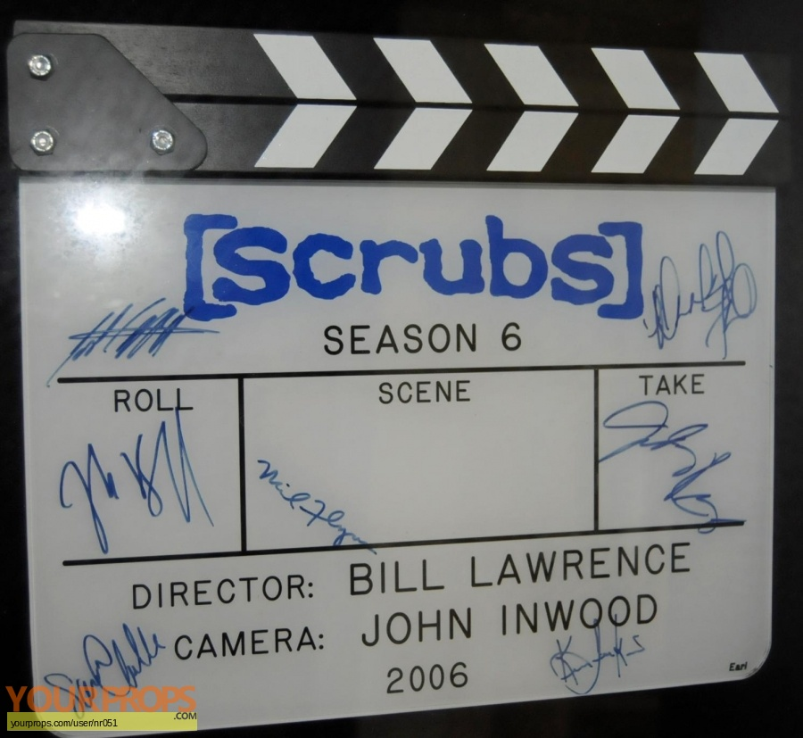 Scrubs replica production material