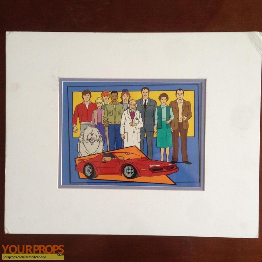 Turbo Teen original production artwork