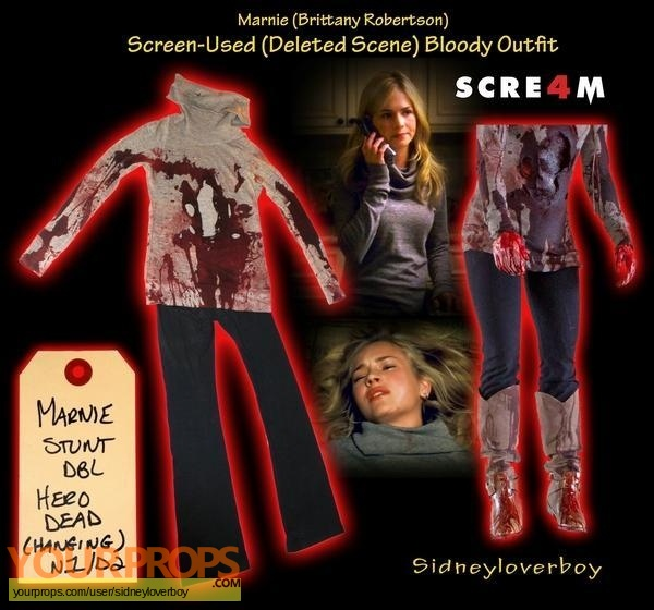 Scream 4 (Scre4m) blu-ray label - DVD Covers & Labels by ...