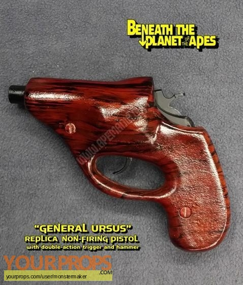 Beneath the Planet of the Apes replica movie prop weapon