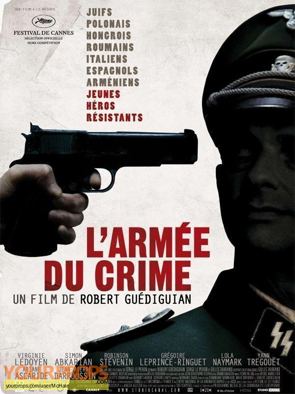 Larm e du crime original movie prop