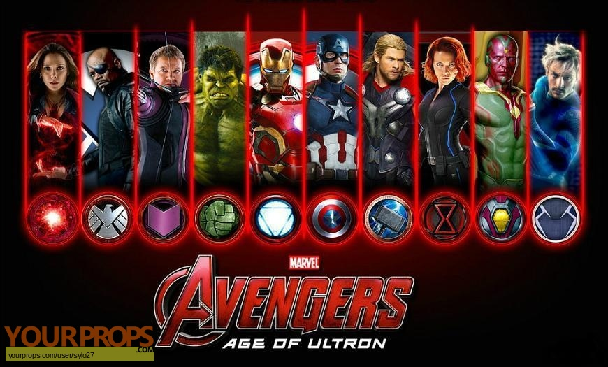 Avengers  Age of Ultron original movie costume