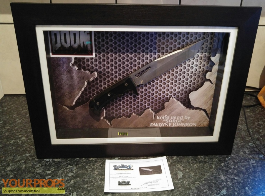 Doom original movie prop weapon