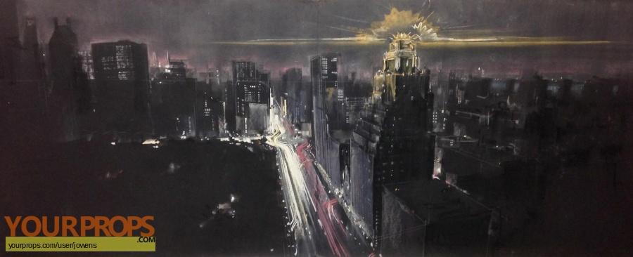 Ghostbusters original production artwork