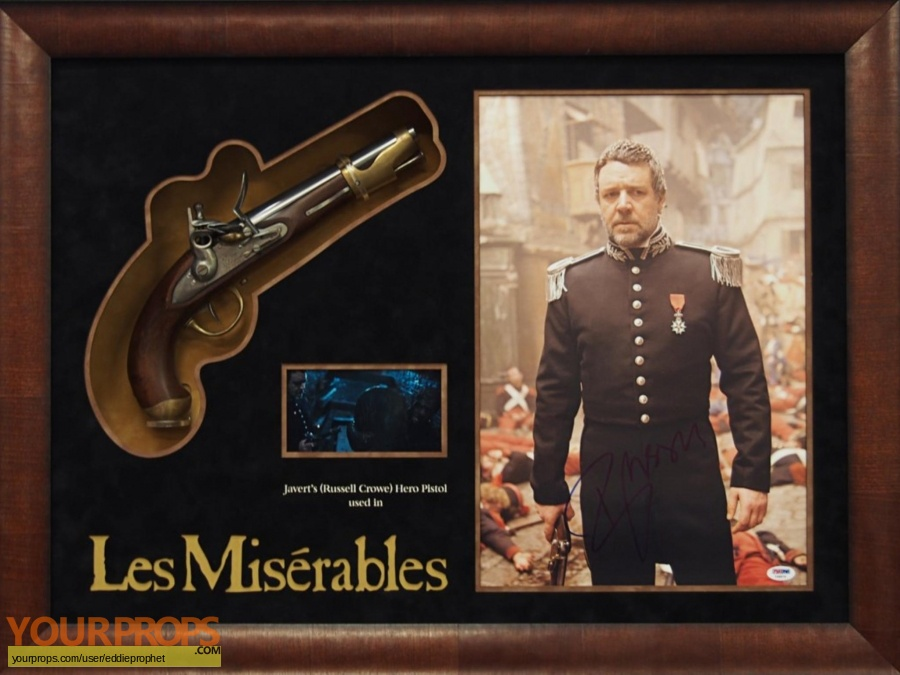 Les Miserables Hero - Screen Matched 1:1 Javert Pistol ...