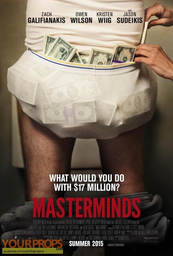 Masterminds original movie costume
