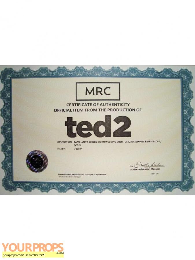 Ted 2 original movie costume