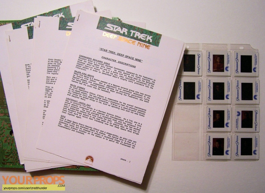 Star Trek  The Next Generation original production material