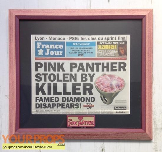 The Pink Panther original movie prop