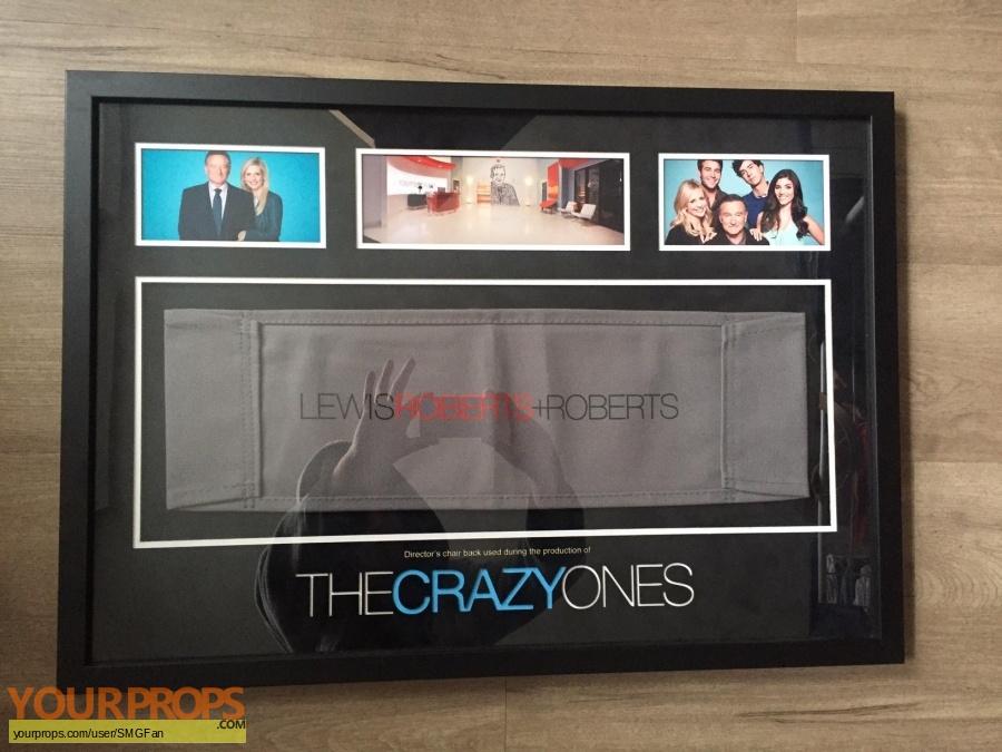 The Crazy Ones original film-crew items