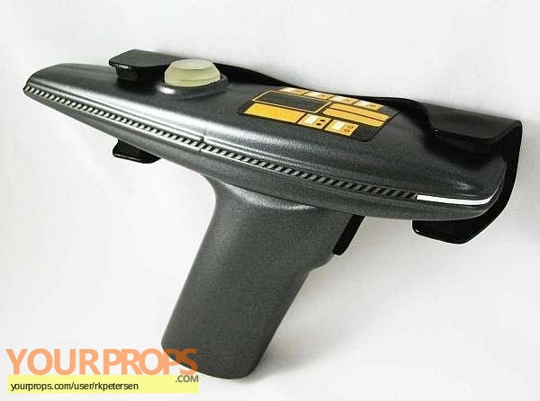 Star Trek  The Next Generation original movie prop weapon