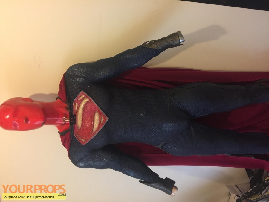 Man of Steel swatch   fragment movie costume