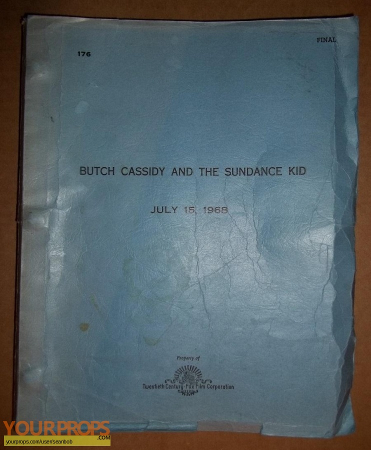 Butch Cassidy and the Sundance Kid original production material