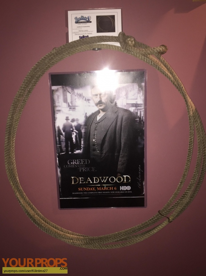 Deadwood original movie prop