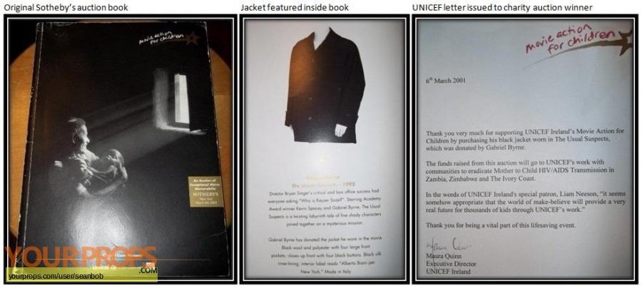 The Usual Suspects original movie costume