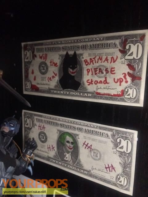 The Dark Knight made from scratch movie prop
