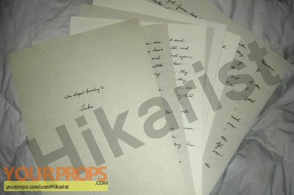 The Book of Eli original production material