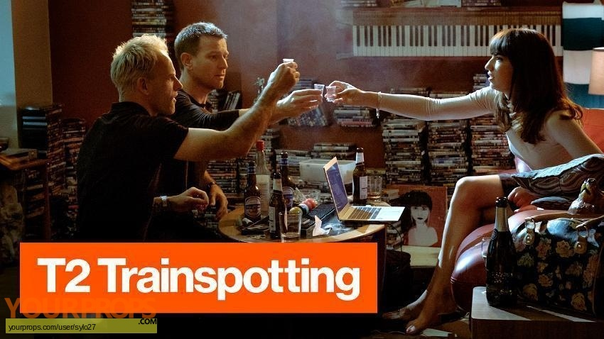 Trainspotting 2 original set dressing   pieces
