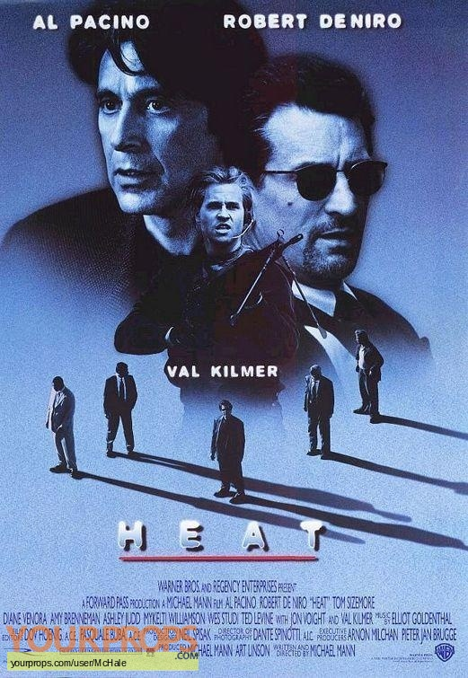 Heat original movie prop
